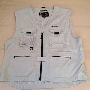 Eddie Bauer Legend Fishing Vest XL In GUC